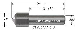 Single Point Diamond Dresser